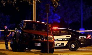 Polizisten in der Nähe des Tatorts / Bild: APA/EPA/LARRY W. SMITH