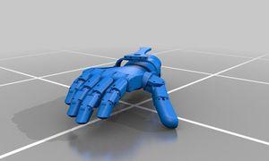 Hand-Prothesen aus dem 3D-Drucker / Bild: Thingiverse