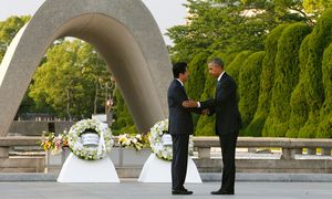 JAPAN-US-DIPLOMACY-WWII-HIROSHIMA / Bild: (c) APA/AFP/POOL/KIMIMASA MAYAMA