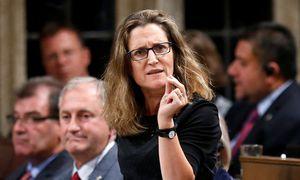 Die kanadische Handelsministerin Chrystia Freeland / Bild: Reuters