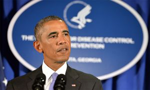 US-Präsident bei seiner Rede in Atlanta. / Bild: (c) EPA (Hyosub Shin)