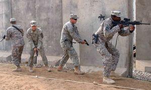US-Soldaten beim militärischen Training im Irak 2009. / Bild: (c) EPA (ALAA AL-SHEMAREE)