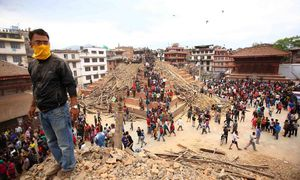 Kathmandu / Bild: (c) imago/UPI Photo (imago stock&people)