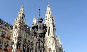 Archivbild: Das Wiener Rathaus / Bild: Fabry / Die Presse