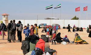 Flüchtlinge aus Aleppo / Bild: (c) AFP