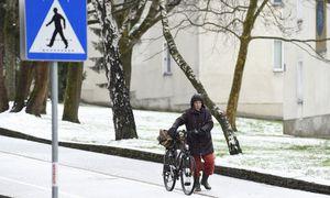 1. April - Schnee in Wien. / Bild: (c) APA