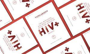 """Der """"Vangardist"""" hat das Blut von HIV-Infizierten mit Druckerfarbe gemischt. / Bild: (c) Vangardist"""