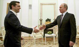 Tsipras und Putin / Bild: (c) APA/EPA/ALEXANDER ZEMLIANICHENKO (ALEXANDER ZEMLIANICHENKO/POOL)