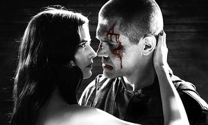 Eva Geen und Josh Brolin in ''Sin City: A Dame to Kill For'' / Bild: (c) Sony Pictures