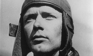 Fliegerheld Charles Lindbergh prägte den Begriff von 'America first'. / Bild: (c) AFP