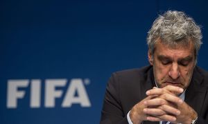 Fifa-Kommunikationschef Walter de Gregorio. / Bild: (c) EPA (Ennio Leanza)