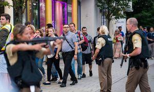 Die Polizei im Einsatz in München. / Bild: (c) AFP