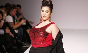 Defile des creations Dede Allure a la Style Fashion Week Los Angeles Californie USA MODE Defil / Bild: (c) imago/PanoramiC (imago stock&people)