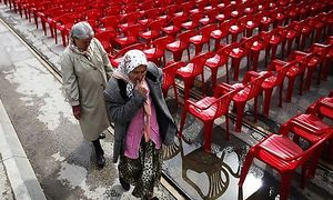 """Sarajevo: """"Die Welt muss wissen, was passiert ist"""" / Bild: (c) REUTERS (Dado Ruvic)"""