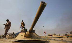 Angriff der kurdischen Peschmerga / Bild: APA/AFP/AHMAD AL-RUBAYE