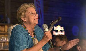 Stenzel bei einem Wahlkampfauftritt / Bild: APA/HANS PUNZ