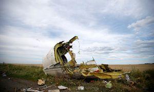 bsturz im freien Feld: Ein Wrackteil der Boeing in der Ostukraine im Sommer 2014. / Bild: REUTERS