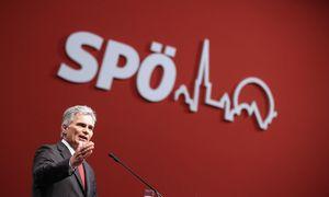 SPÖ-Parteichef Werner Faymann ist in Bedrängnis. Am Montag wird der SPÖ-Vorstand über seinen Verbleib an der Spitze entscheiden. Heute fällt zwischen Michael Häupl und Hans Niessl eine Vorentscheidung.  / Bild: APA/GEORG HOCHMUTH