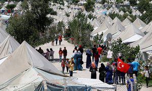 Syrische Flüchtlinge im Lager im türkischen Osmaniye. Die Türkei sichert die Grenzen zu Syrien immer mehr ab. / Bild: (c) REUTERS (UMIT BEKTAS)