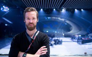 Marvin Dietmann ist Choreograph und als Stage Director für die optische Inszenierung der einzelnen Beiträge verantwortlich. / Bild: (c) APA/GEORG HOCHMUTH (GEORG HOCHMUTH)