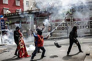 (c) APA/AFP/YASIN AKGUL (YASIN AKGUL)