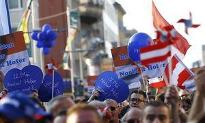 Hofer-Kundgebung / Bild: REUTERS
