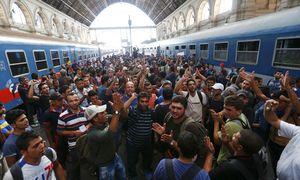 Bahnhof Budapest / Bild: (c) REUTERS (LASZLO BALOGH)
