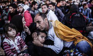 Syrische Flüchtlinge in der Türkei / Bild: AFP