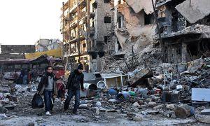 Die Zerstörung Aleppos / Bild: Reuters