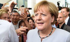 Die deutsche Kanzlerin Angela Merkel. / Bild: (c) AFP (RAINER JENSEN)