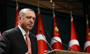 TURKISH-PRESIDENT-RECEP-TAYYIP-ERDOGAN / Bild: (c) APA/AFP/YASIN BULBUL (YASIN BULBUL)