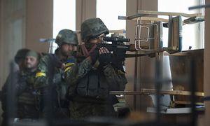 Archivbild: Ukrainische Soldaten im umkäpften Osten des Landes. / Bild: (c) REUTERS (� Stringer . / Reuters)