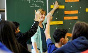 Schüler einer Neuen Mittelschule. / Bild: (c) Die Presse (Clemens Fabry)