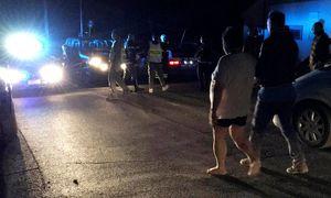 Ortschaft Amatrice: Menschen mitten in der Nacht auf der Straße. / Bild: (c) Reuters