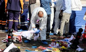 Anschlag in Ankara / Bild: AFP
