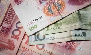 CHINA-ECONOMY-CURRENCY / Bild: (c) APA/AFP/FRED DUFOUR
