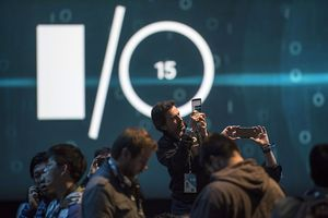 Inside The Google I/O Developers Conference / Bild: (c) Bloomberg (David Paul Morris)