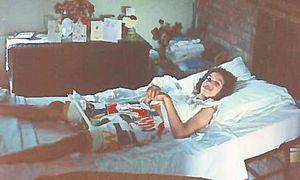 "Als Kind bekam Jean Abbott die Diagnose ""infantile Zerebralparese"". / Bild: (c) Jean Sharon Abbott"