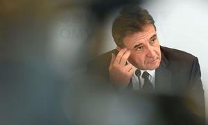 """OMV-Chef Gerhard Roiss: """"Kann ausschließen, dass ich reagiert habe."""" / Bild: (c) APA/HELMUT FOHRINGER (HELMUT FOHRINGER)"""