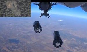 Russland bombardiert Ziele in Westsyrien, einem dicht besiedelten Gebiet. / Bild: (c) AFP