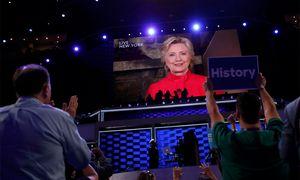 Die Demokraten nominieren Hillary Clinton. / Bild: (c) Reuters (Mark Kauzlarich)