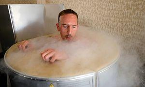 Der französische Fußballstar Franck Ribéry in einer Saua nach dem Training / Bild: (c) REUTERS (POOL)