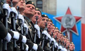 Archivbild: Russische Soldaten bei einer Parade in Moskau. / Bild: (c) EPA