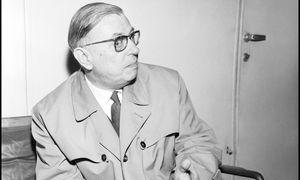 Jean-Paul Sartre / Bild: (c) imago/Leemage
