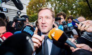Walloniens Premierminister Paul Magnette genießt es, im Mittelpunkt des europäischen Interesses zu stehen. / Bild: (c) APA/AFP/BELGA/LAURIE DIEFFEMBACQ