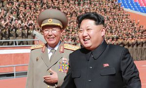 Ri Yong-gil/ Kim Jong-un / Bild: (c) APA/AFP/KCNA/KNS (KNS)
