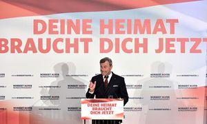 Norbert Hofer beim Wahlkampffinale / Bild: APA/HANS KLAUS TECHT