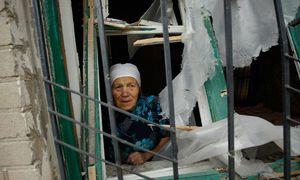 Alltag im Donbass: Gefechte in der Nacht, eine trügerische Ruhe untertags. / Bild: (c) imago/Xinhu