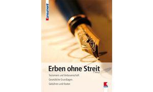 Patricia E. Davis Erben ohne Streit (6., akt. Auflage), Verein für Konsumenteninformation, 176 Seiten, 19,90 € / Bild: (C) VKI
