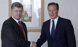 Petro Poroschenko, David Cameron / Bild: (c) REUTERS (POOL)
